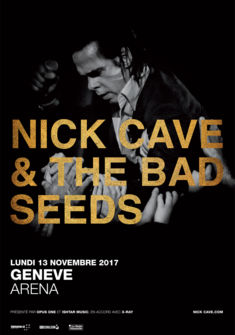affiche Nick Cave & The Bad Seeds