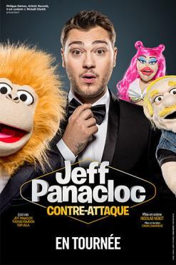 affiche « Jeff Panacloc Contre Attaque »