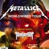 affiche METALLICA Worldwired Tour