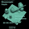 affiche Chostakovitch, Moussorgsky, Haydn