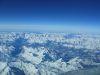 Photo prise à la verticale de Turin (au fond le Mont-Blanc et le Lac Léman)