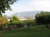 Parc Marignac: vue vers la Praille et le Salève