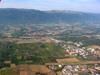 Le CERN et au bout, Saint-Genis-Pouilly