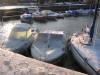 Bateaux à quai glissant