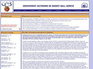 thumb GAB - Groupement Autonome de Basket