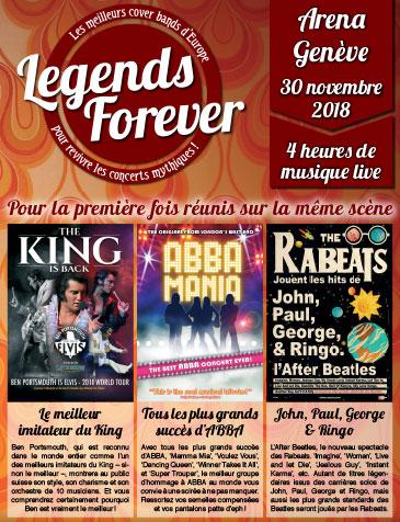 Arena de Genève - 3, route des Batailleux - Grand Saconnex, Vendredi 30 novembre 2018