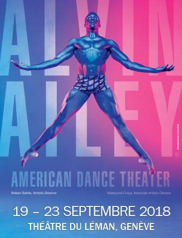 Théâtre du Léman - 19, quai du Mont-Blanc - Genève, Du 19 au 23/9/2018