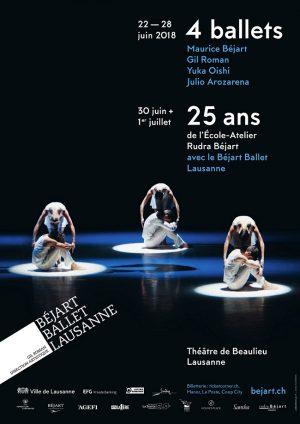 Théâtre de Beaulieu - Av. des Bergières 10, Lausanne, Du 22 au 28/6/2018