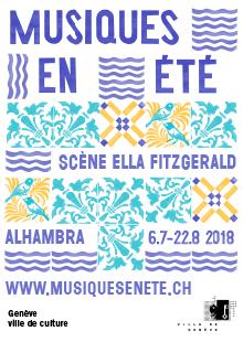 Scène Ella Fitzgerald - Parc La Grange, Quai Gustave-Ador, 1207 Genève, Mercredi 15 août 2018