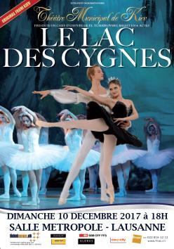 affiche « Le Lac des Cygnes »