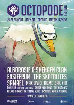 affiche 7ème Octopode Festival