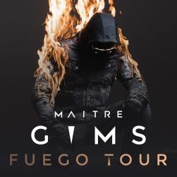 affiche Maître Gims Fuego Tour