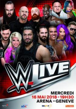 affiche WWE Live