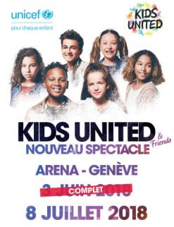 affiche KIDS UNITED & friends
