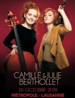 affiche Camille & Julie Berthollet