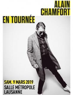 affiche Alain CHAMFORT