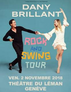 affiche Dany Brillant - Rock and Swing Tour