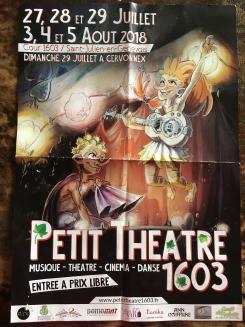 affiche Petit Théâtre