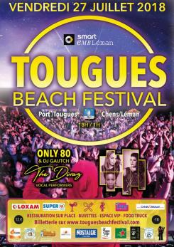 affiche Tougues Beach Festival