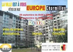 affiche La ville est à vous à l'Europe