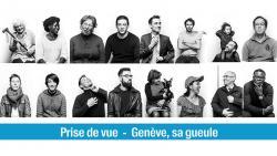 affiche «Genève, sa gueule» à CinéTransat