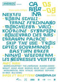 affiche 29ème Caribana Festival