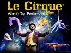 affiche Le Cirque World's Top Performers