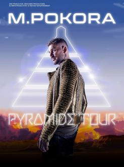 affiche M. POKORA 'Pyramide Tour'