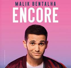 affiche Malik BENTALHA 'Encore'