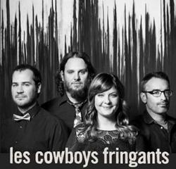 affiche Les Cowboys Fringants