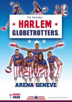 affiche Les Harlem Globetrotters