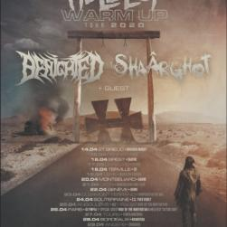 affiche Hellfest Warm-Up Tour 2020