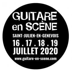 affiche 14ème Festival GUITARE EN SCÈNE - reporté en 2021
