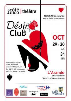 affiche Désir Club