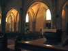 Le transept et la grande nef, rallongée en 1927-30
