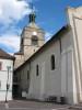 Vue latérale de Notre-Dame de l'Assomption