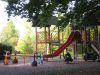 Jeux d'enfants dans le Parc Marignac