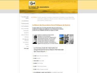 thumb La Maison des Associations Socio-Politiques de Genève