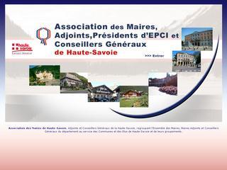 thumb Association des Maires de Haute-Savoie
