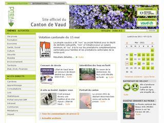 thumb Canton de Vaud