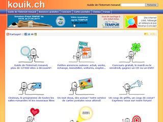thumb Kouik.ch - Guide de l'internet romand