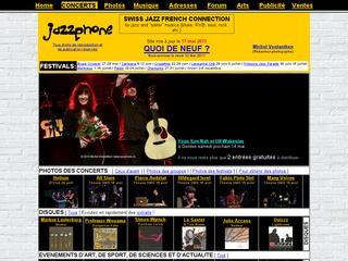 thumb JazzPhone.ch - Agenda du Jazz Romand