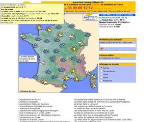 thumb Les prévisions météorologiques Haute Savoie