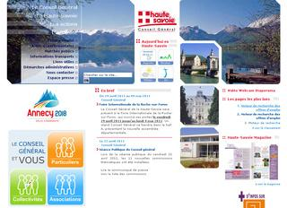 thumb Conseil Général de Haute-Savoie