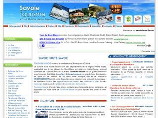 thumb Tourisme Savoie et Haute-Savoie