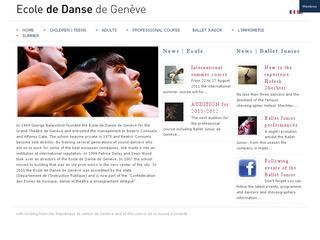 thumb Ecole de Danse de Genève - ballet Junior