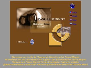 thumb Agence de Détective privé Pascal Mignot