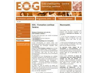 thumb Ecole d'Ostéopathie de Genève (EOG)