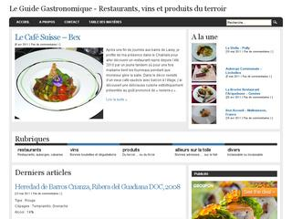 thumb Le Guide Gastronomique
