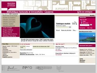thumb BCU - ibliothèque Cantonale et Universitaire de Lausanne